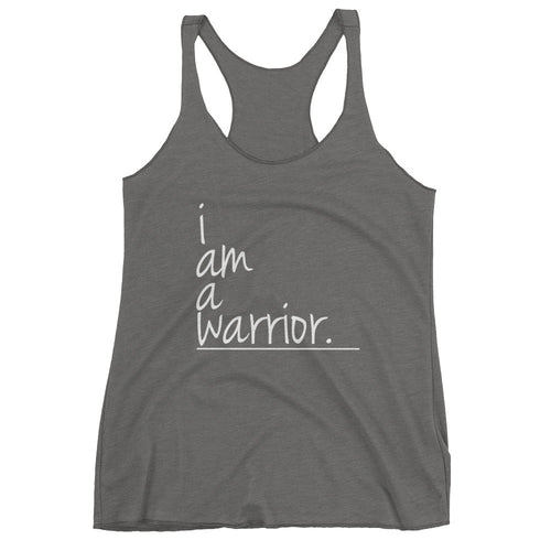 I Am Collection Women's Warrior Tank, Multiple Colors