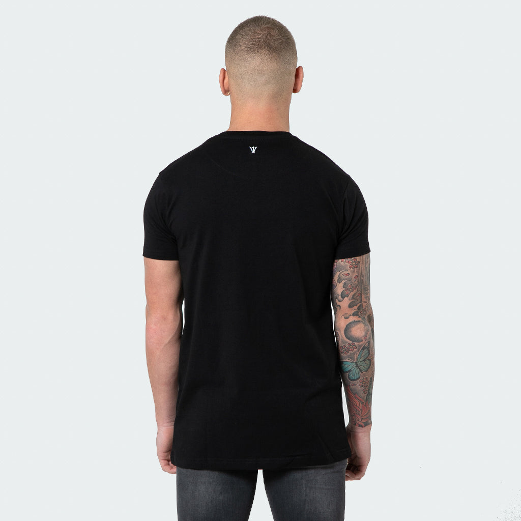 NEW Signature - Black Short Sleeve T shirt - Raw Society