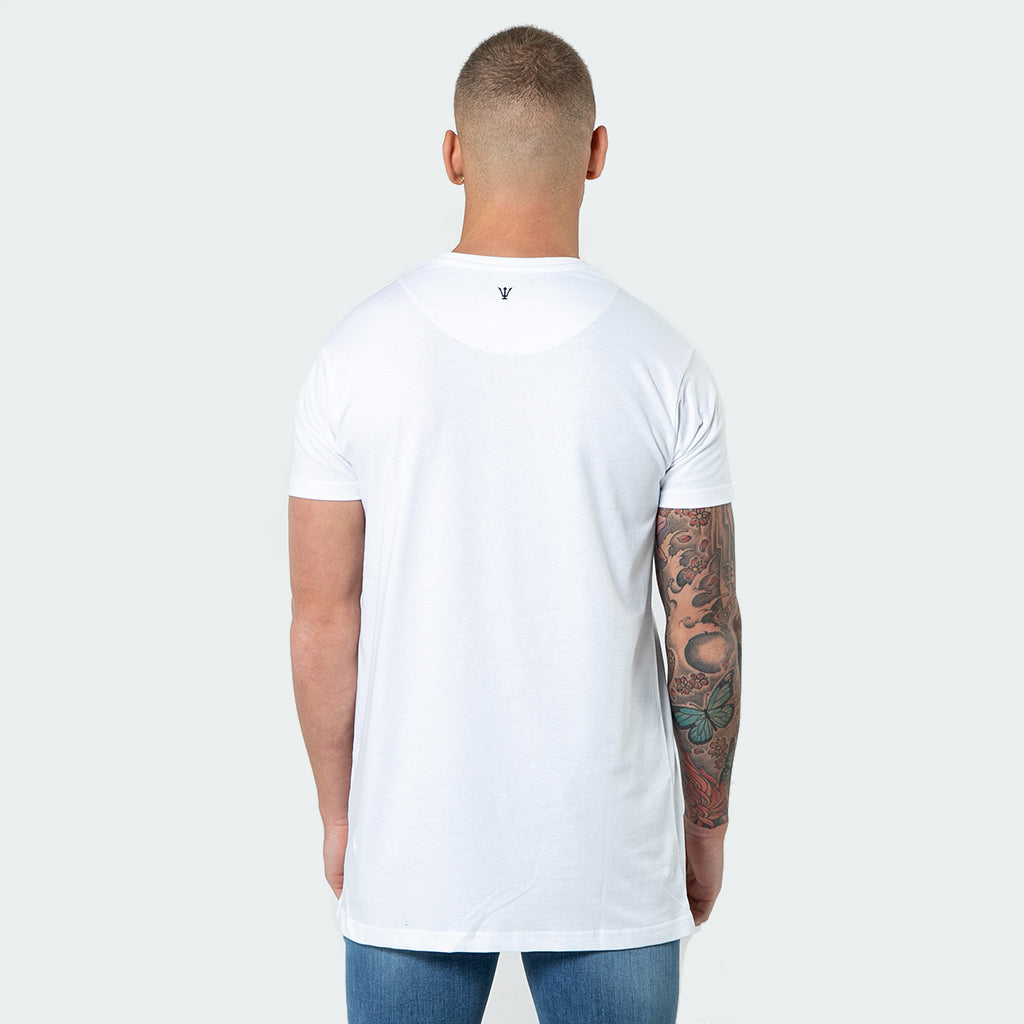 NEW Signature - White Short Sleeve T shirt - Raw Society