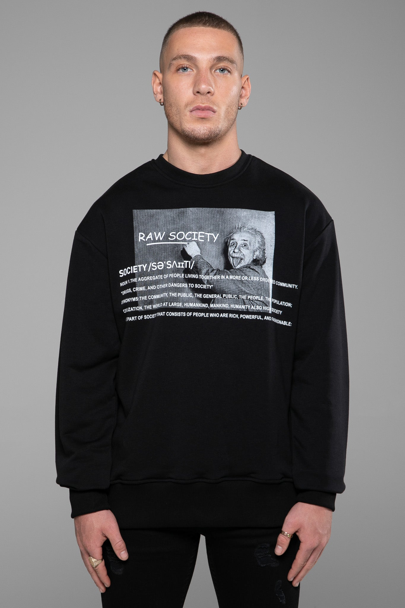SWEATSHIRT - GENIUS