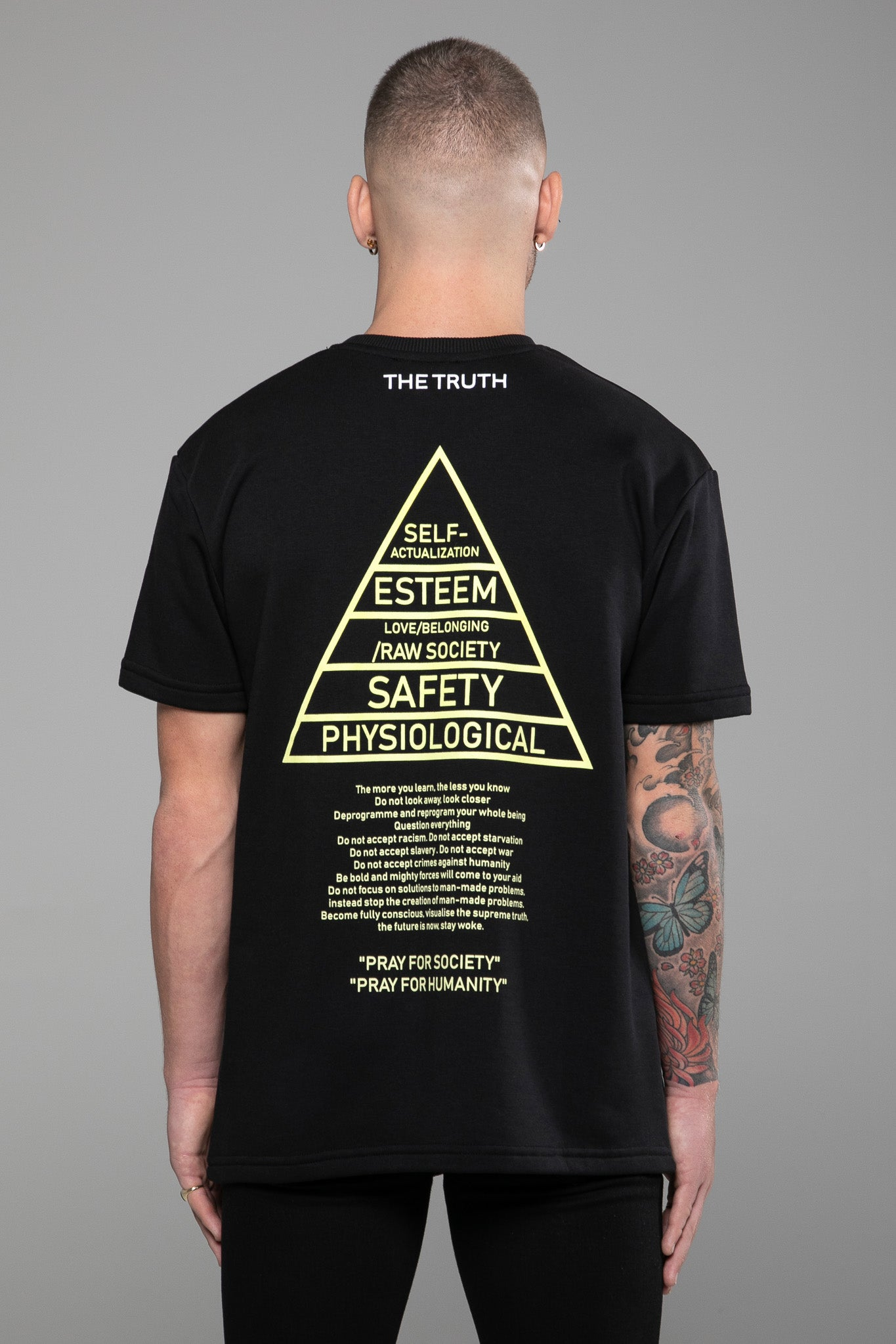T-SHIRT - MASLOW HIERARCHY