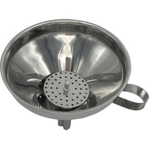Stainless Steel Funnel with removable strainer - IcySkyy