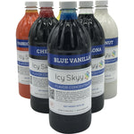Shaved Ice Or Snow Cone Flavors - Concentrate 32 oz. - IcySkyy
