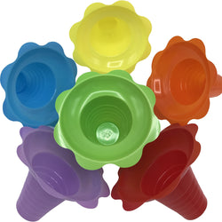 Shave Ice Flower Cups  - Medium (8 Oz.) - IcySkyy