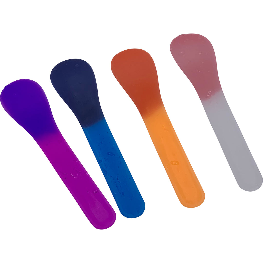 Color Changing Spoons- Frost and Neon Orange colors