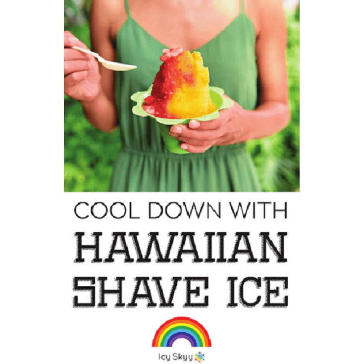 Poster - Girl holding Shave Ice - IcySkyy