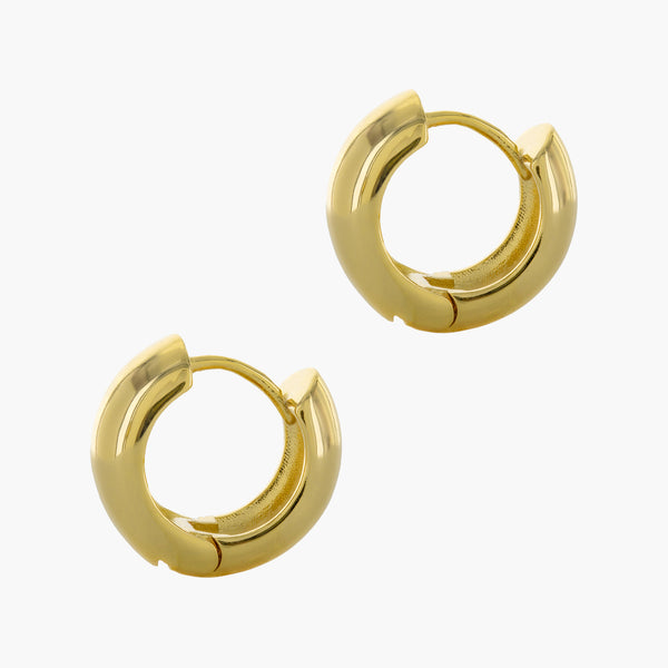 Extra Bold Janie Huggie Earrings