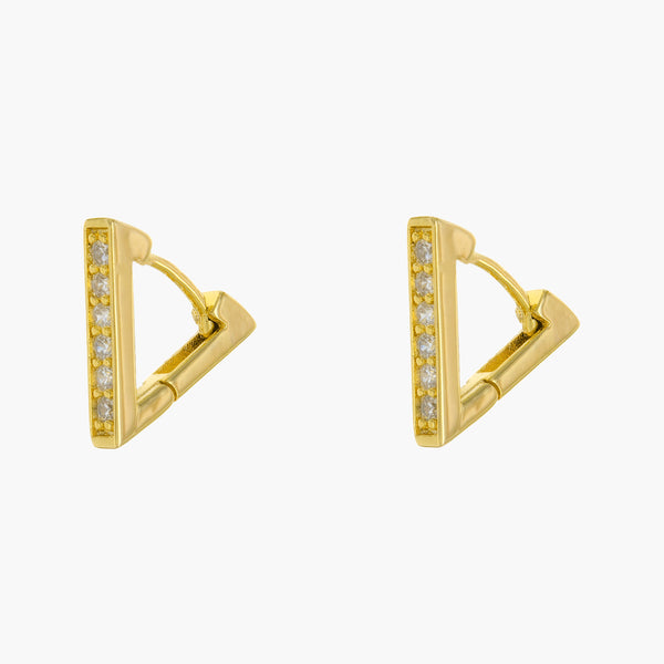 Minerva Huggie Hoop Earrings