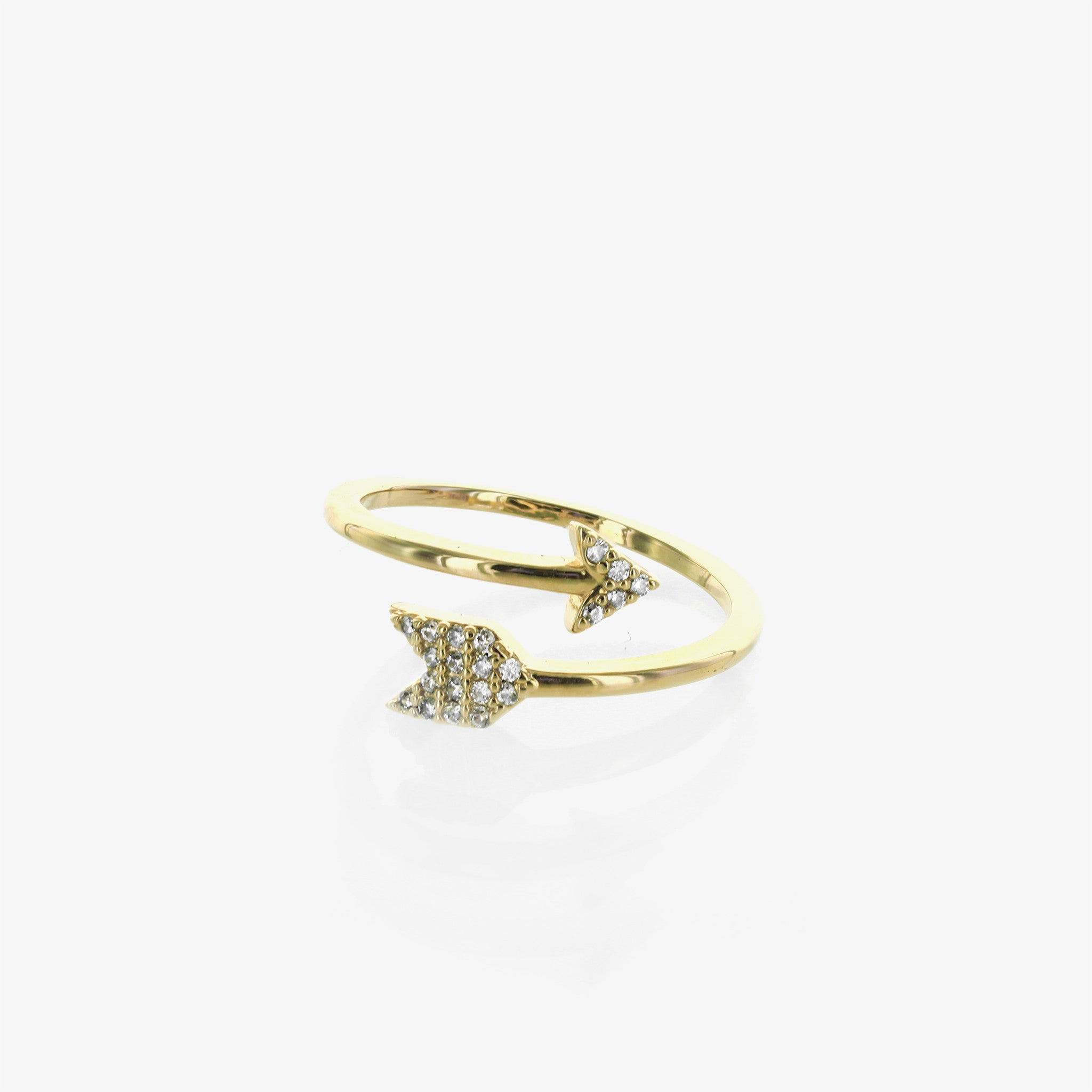 Arrow Wraparound Ring