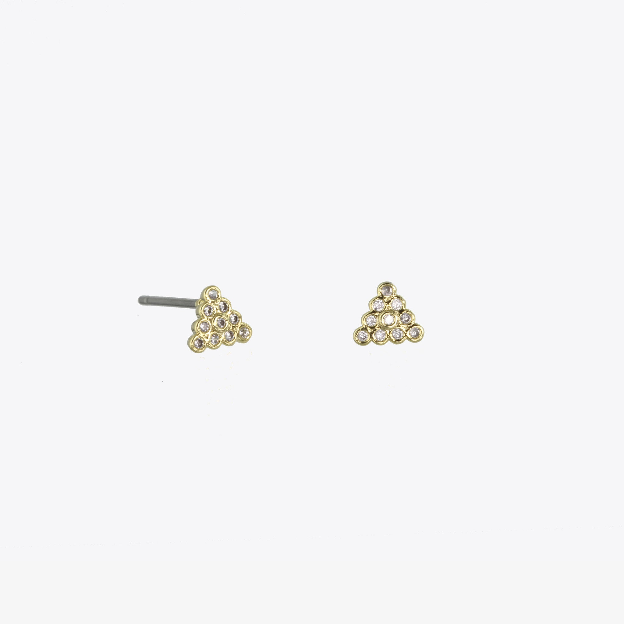 Giza Triangle Studs