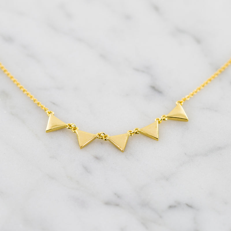 Giza Triangle Necklace