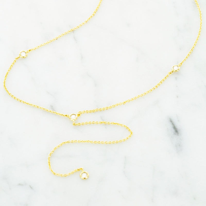 Lorena Lariat Necklace