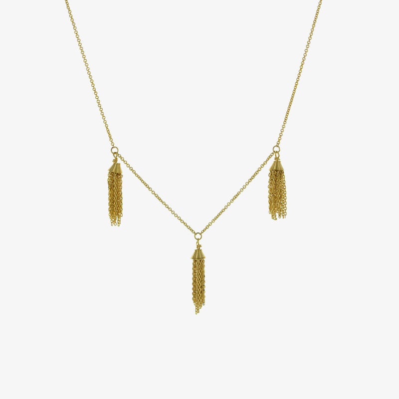 Elizabeth Tassel Necklace