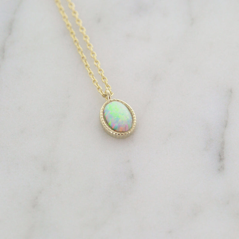 Adel Opal Necklace