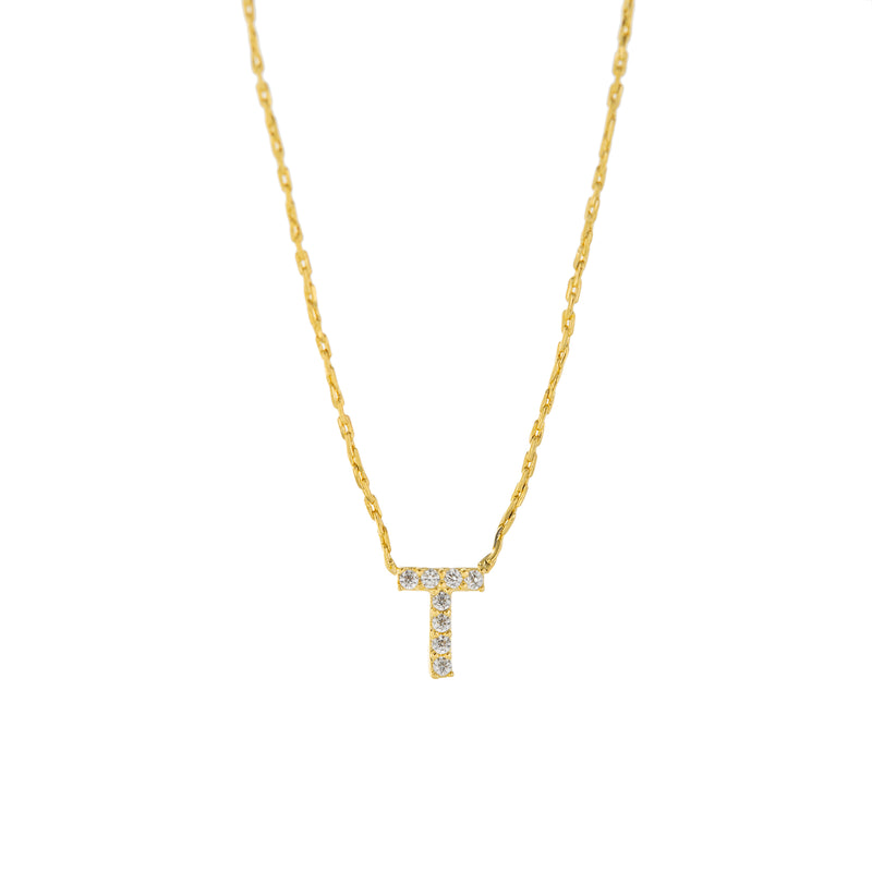 Dainty Initial Necklace