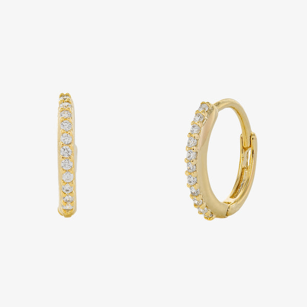 Sandra Huggie Hoop Earrings