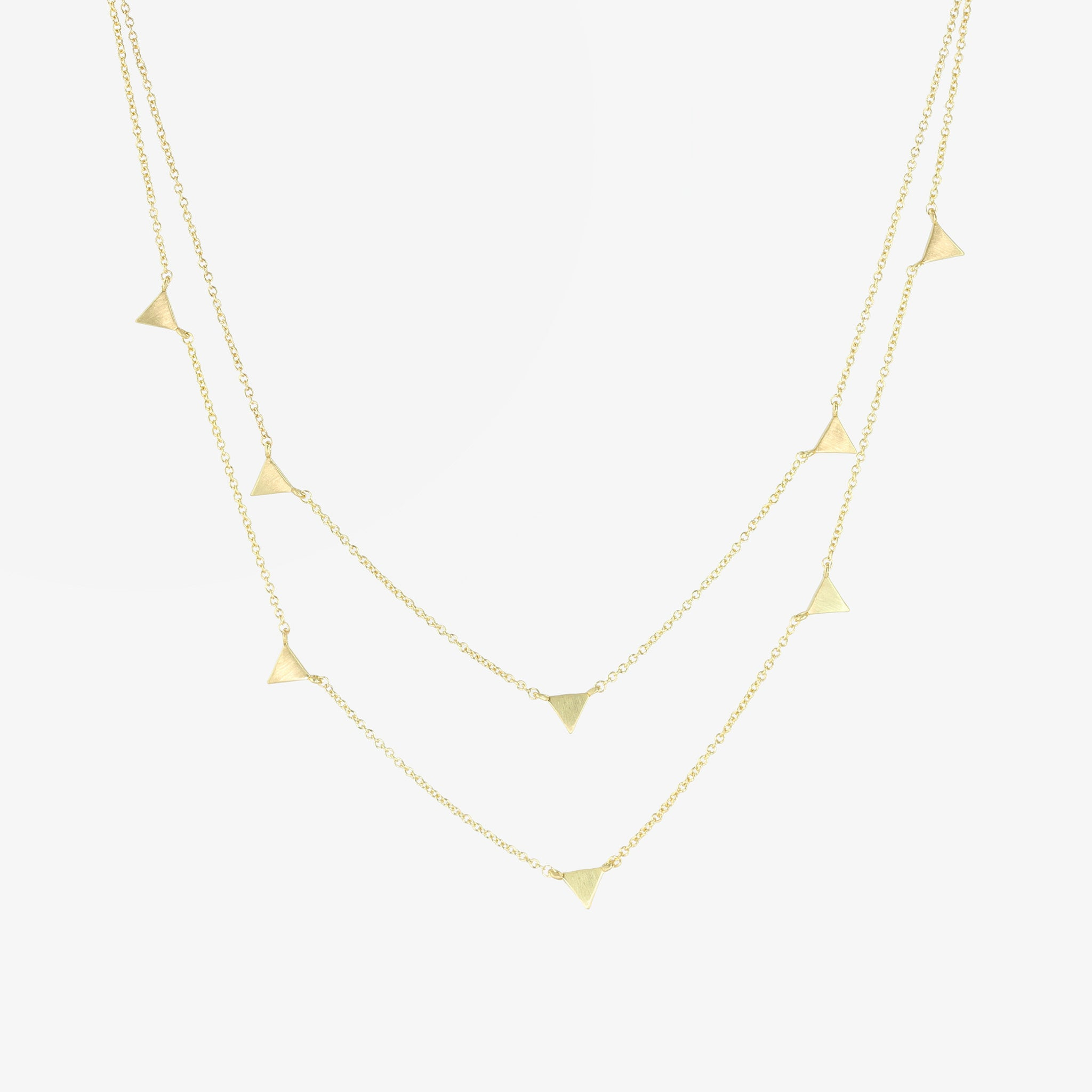 Astrid Multi Gold Necklace