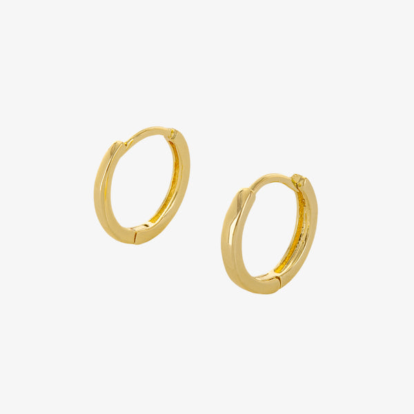 Jane Huggie Hoop Earrings