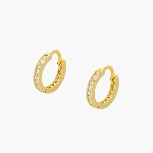 Brenda Huggie Hoop Earrings