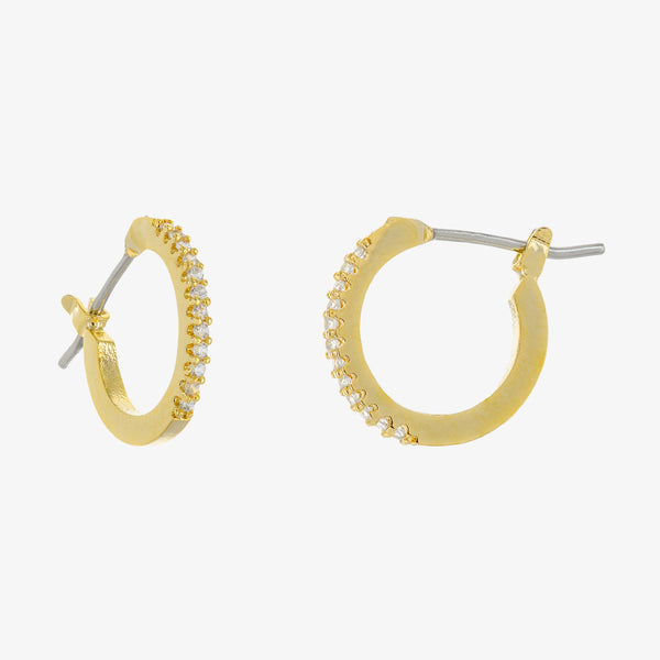 Sandy Huggie Hoop Earrings