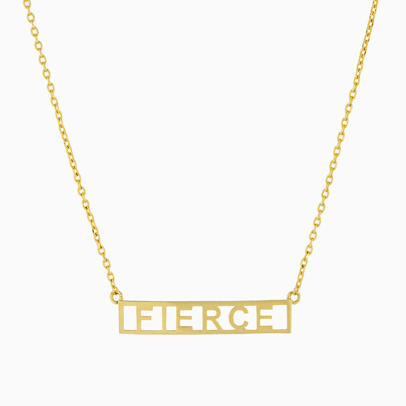 FIERCE PLATE NECKLACE