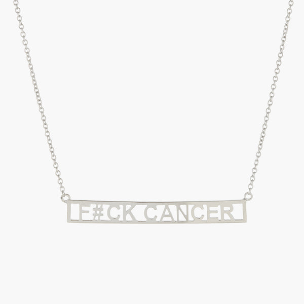 F#CK CANCER NECKLACE