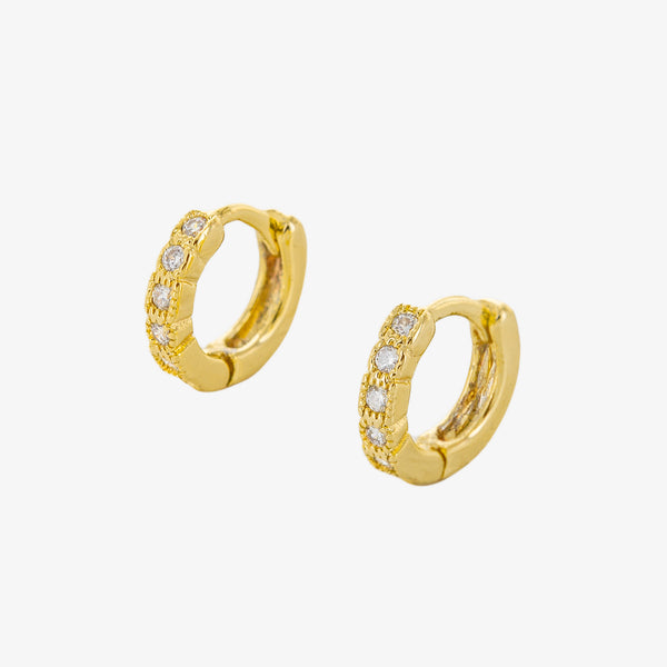 Bleecker Huggie Hoop Earrings