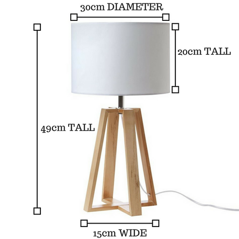 what is the right size lampshade for my base?