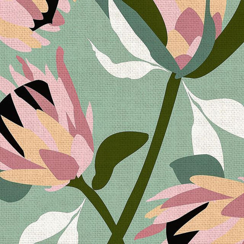 Tim Neve - Protea - fabric design