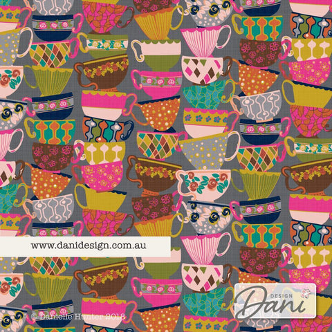 Stacks of Teacups - Dani Design
