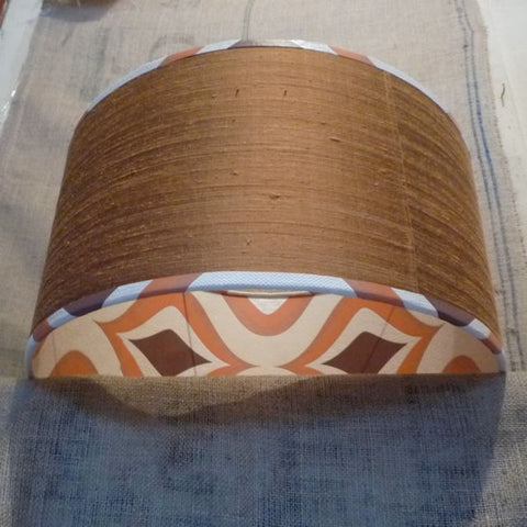 Pendant lampshade 50cm diameter how to line a lampshade with wallpaper