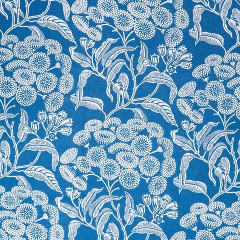 Utopia Goods - Angophora Blue Linen Furnishing Fabric