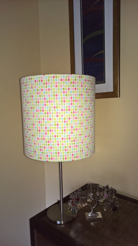 drum bedside light lampshade pantone inspiration 3Chooks lampshade making supplies