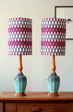 Pinterest - tall skinny lamps