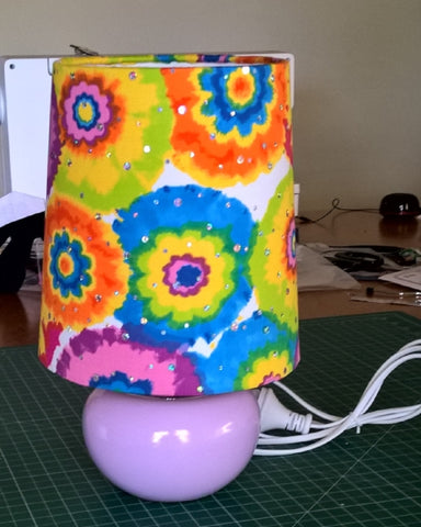 hippy light lampshade baby shower 3Chooks lampshade making supplies