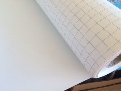 Lampshade Paper Adhesive Styrene 70cm wide Sold by the metre