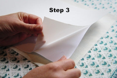 How to use lampshade paper Step 3