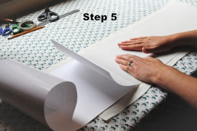 How to use lampshade paper Step 5