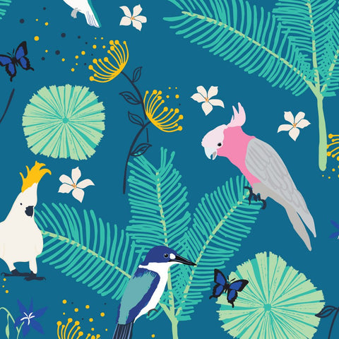 Wild Australia by Amanda Brandl fabric design