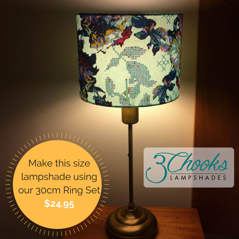 New Lampshade Frames – 3Chooks Lampshades AV25