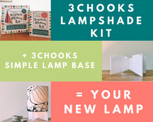 3Chooks Lampshade Making Kit