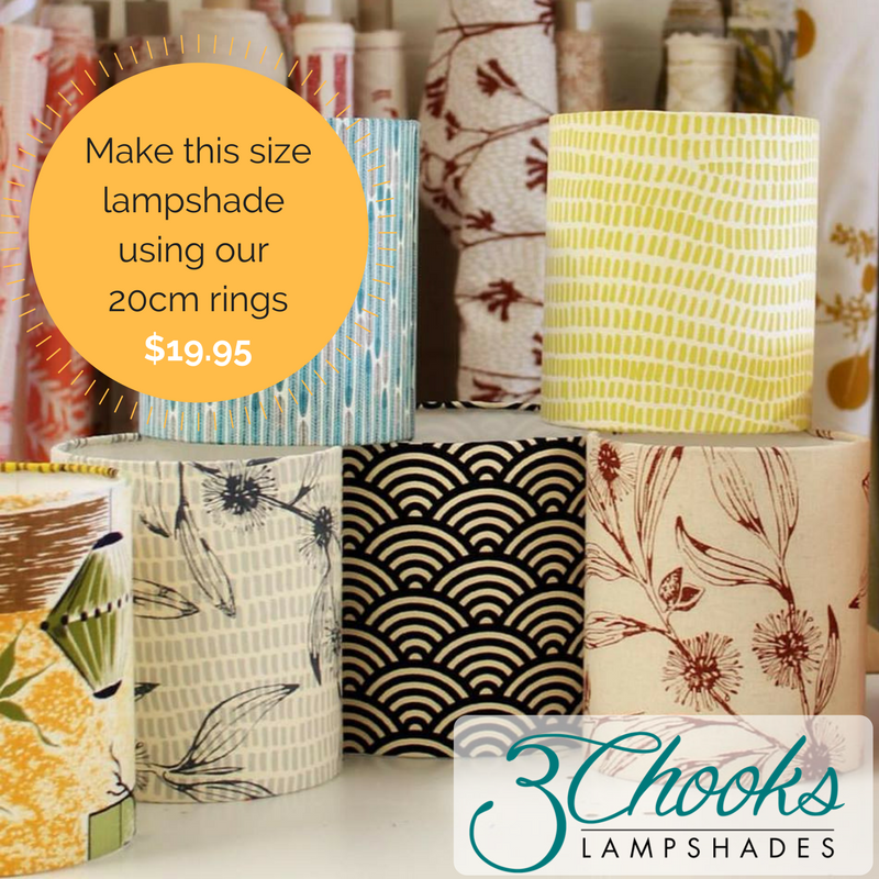 Fresh Lampshade Frames – 3Chooks Lampshades EZ88