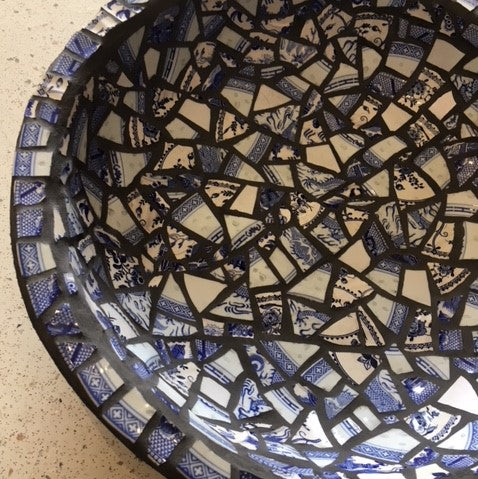 Mosaic Birdbath Workshop - Sunday 20 September 2020