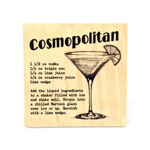 Coaster - Cocktail - Cosmopolitan