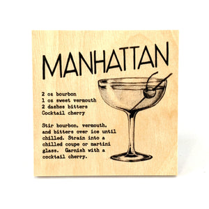Coaster - Cocktail - Manhattan