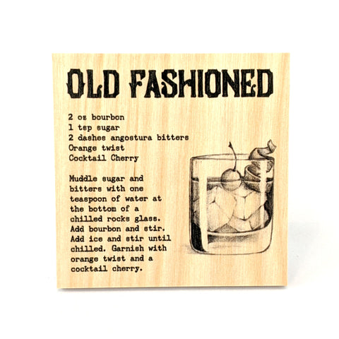Coaster - Cocktail - Old Fashioned
