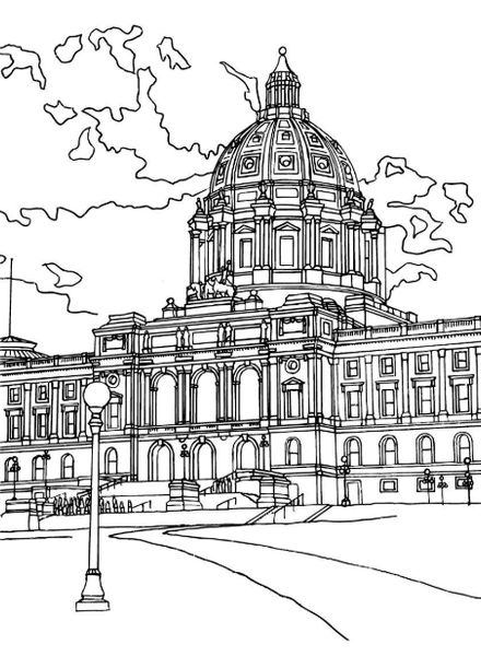 Coloring Book - Color St. Paul