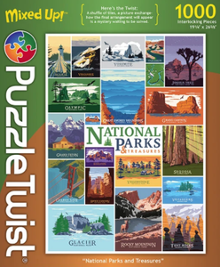 Jigsaw Puzzle - National Parks and Treasures