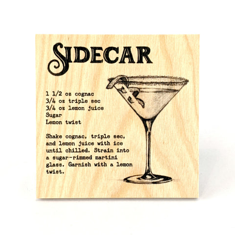 Coaster - Cocktail - Sidecar