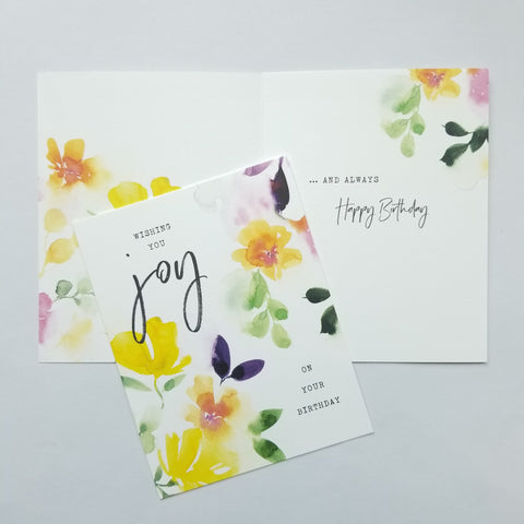 Birthday Cards (variety of design options)